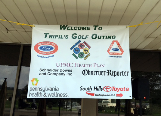 Golf Outing Banner