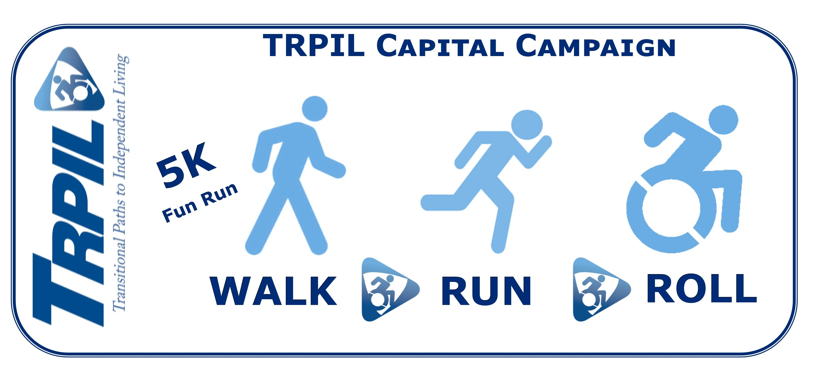 TRPIL Walk Run Roll 2018 logo