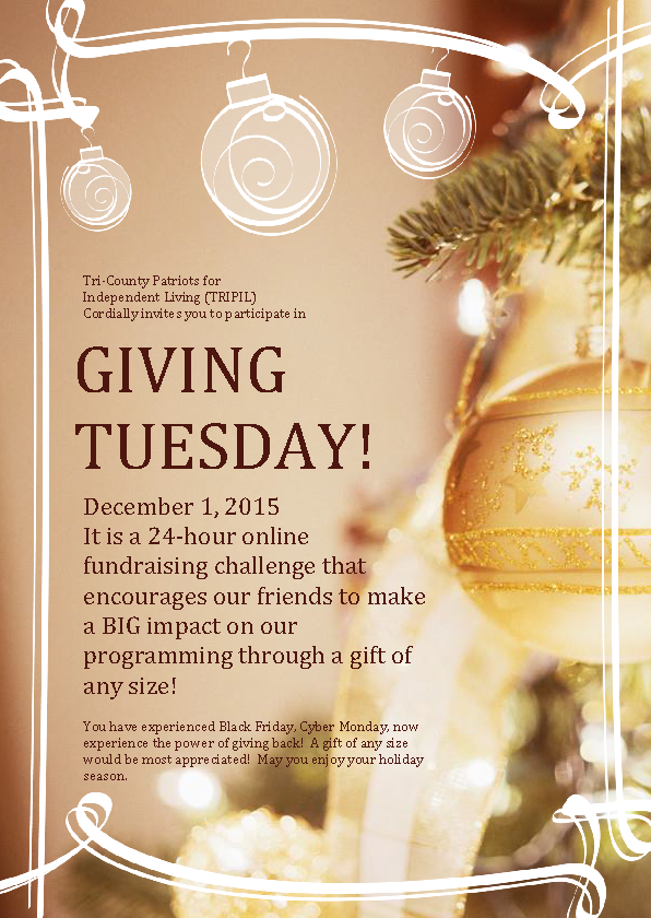 Giving Tuesday 2015 graphic