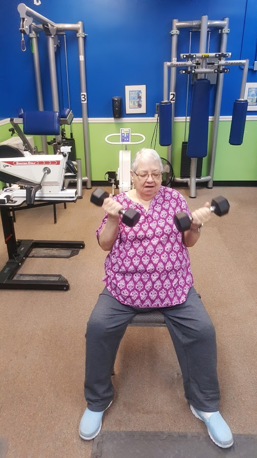 Nancy N working out in the TRPIL