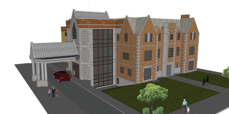 Latest Rendering of New HQ